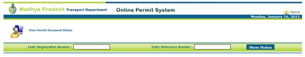 Check Permit Application Status